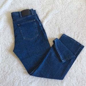 Wrangler Dark Blue Jeans EUC 34 x 29 Regular Fit